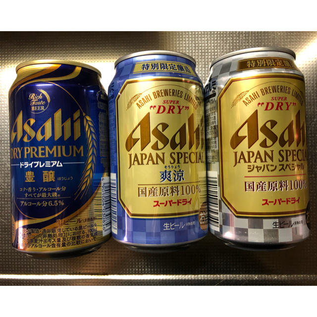 アサヒ(アサヒ)のアサヒビール 夏限定セット16本 食品/飲料/酒の酒(ビール)の商品写真