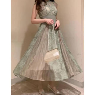 snidel - スィッチングレースドレス