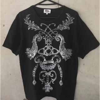 ヴィヴィアンウエストウッド(Vivienne Westwood)のVivienneWestwood MAN Tシャツ ブラック 46メンズ(Tシャツ/カットソー(半袖/袖なし))