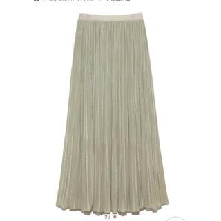 リリーブラウン(Lily Brown)のリリーブラウンジャガードプリーツスカート(ロングスカート)