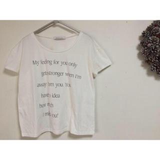 ダズリン(dazzlin)のdazzlin Tシャツ ❁❁(Tシャツ(半袖/袖なし))