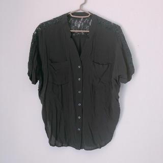 ジーナシス(JEANASIS)のジーナシス  レースシャツ(シャツ/ブラウス(半袖/袖なし))