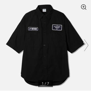 ジーユー(GU)のGU×STUDIO SEVEN★ワークシャツ size:M(シャツ)