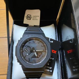 ジーショック(G-SHOCK)のCASIO gショック ga2100-1a1jf ブラック 新品未使用 (腕時計(デジタル))
