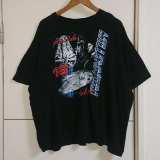 STAR WARS スターウォーズ Tシャツ 映画キャラクター古着 ハン・ソロ(Tシャツ/カットソー(半袖/袖なし))