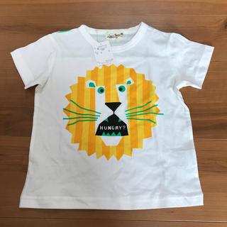 ラブアンドピースアンドマネー(Love&Peace&Money)のラブピ   新品 ライオン  Tシャツ 110(Tシャツ/カットソー)