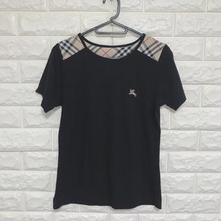 バーバリー(BURBERRY)のチェック柄 Tシャツ(Tシャツ(半袖/袖なし))