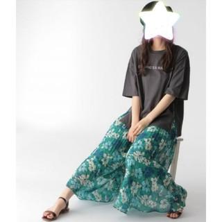 ミスティウーマン(mysty woman)のmysty woman サイドチャック Tシャツ(Tシャツ(半袖/袖なし))