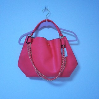 ロペ(ROPE)の【新品・未使用】ROPE ピンク 鞄(トートバッグ)
