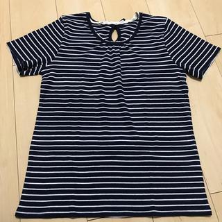 シマムラ(しまむら)のボーダーTシャツ 半袖(Tシャツ/カットソー(半袖/袖なし))