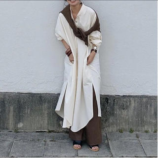 アリエス(aries)のariesmirage  オリジナルシャツワンピ(ロングワンピース/マキシワンピース)