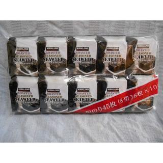 カークランド 韓国味付海苔 (8 切 36 枚)×10個 のり(魚介)
