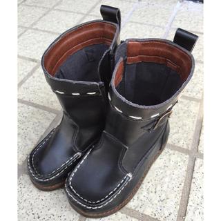 DOUBLE.B - ミキハウス DOUBLE.B 子供 靴 14cm