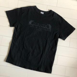 キャリー(CALEE)のCALEE キャリー ヴィンテージプリント Tシャツ ブラック M 日本製(Tシャツ/カットソー(半袖/袖なし))