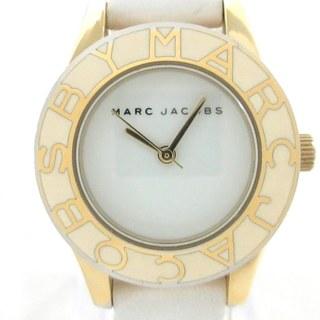マークバイマークジェイコブス(MARC BY MARC JACOBS)のマークジェイコブス 腕時計 - MBM1098 白(腕時計)