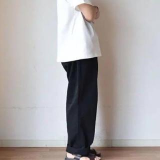 【デッドストック】50~60s M-52 size35 フランス チノパン黒染め(チノパン)