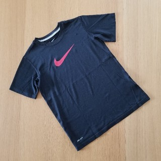 NIKE - ナイキ◆NIKE◆キッズSサイズ130140☆DRI-FIT☆Tシャツ黒ブラック
