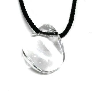 バカラ(Baccarat)のBaccarat(バカラ) ネックレス クリア×黒(ネックレス)