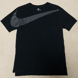 NIKE - NIKE ナイキ ビッグスウォッシュ Tシャツ 黒 Lサイズ