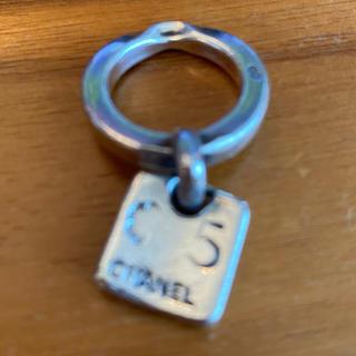 シャネル(CHANEL)のCHANEL NO5モチーフチャームシルバーリング(リング(指輪))