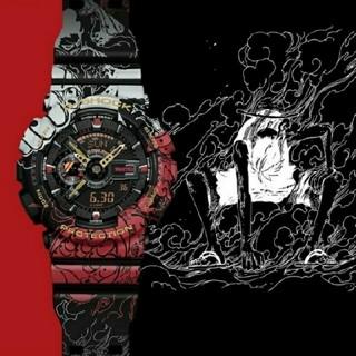 ジーショック(G-SHOCK)のONE PIECE G-SHOCK GA-110JOP-1A4JR ワンピース(腕時計(デジタル))