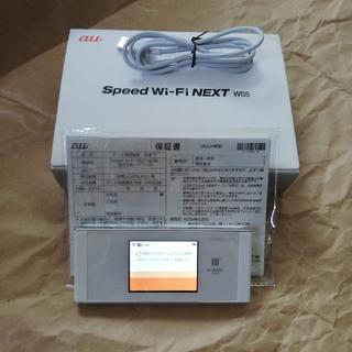 エーユー(au)のW05 au (PC周辺機器)