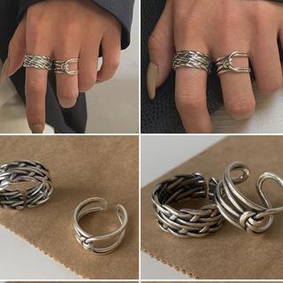 アダムエロぺ(Adam et Rope')の高品質シルバーリングS925(リング(指輪))