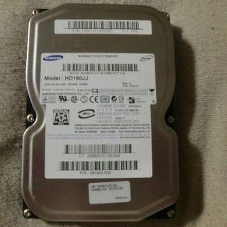 サムスン(SAMSUNG)のSAMSUNG HDD 3.5インチ 160GB!(PCパーツ)