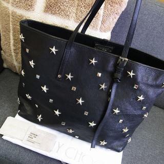 JIMMY CHOO - 正規品☆ジミーチュウ トートバッグ サシャ 星スタッズ ソフィア バッグ 財布