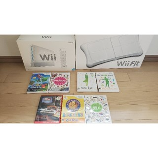 Wii - Wiiソフトセット+バランスWiiボードセット