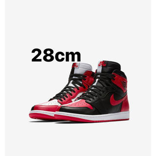 NIKE - NIKE air jordan 1 homage to home 28cm