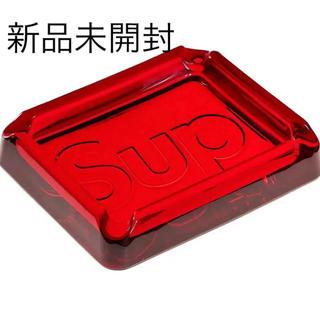 シュプリーム(Supreme)の赤 Supreme 20ss Debossed Glass Ashtray 灰皿(灰皿)