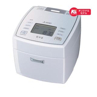 三菱 - 三菱電機 IH炊飯器  ピュアホワイト 炊飯容量:5.5合