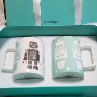 ティファニー(Tiffany & Co.)のティファニー 新品未使用 マグカップ 2つ ニューヨーク本店限定品(グラス/カップ)