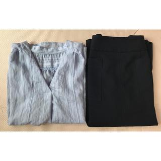 キレイめ☆オフィスカジュアル*ブラウス&スカートのセット(セット/コーデ)
