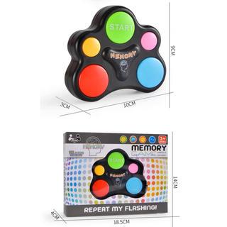 メモリートレーニングルービックキューブ ゲーム 音楽 子供の記憶力 忍耐力を向上(知育玩具)