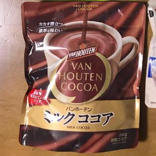 ネスレ(Nestle)のネスティーレモン2袋・バンホーテン ココア1袋・井村屋 タピオカミルクティー1袋(コーヒー)