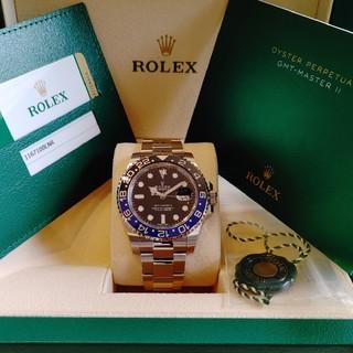 ROLEX - 【国内正規・未使用品】GMTマスターⅡ 116710BLNR