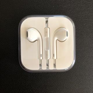 アイフォーン(iPhone)のイヤホン 純正品 iPhone(ヘッドフォン/イヤフォン)