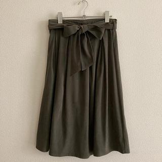 ロペピクニック(Rope' Picnic)のリボン スカート(ひざ丈スカート)