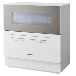Panasonic - (新品、未使用)食洗機Panasonic NP TH2-N☆シャンパンゴールド☆