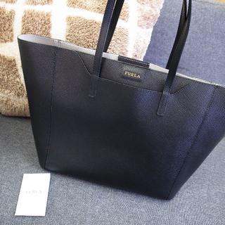 Furla - 正規品☆フルラ トートバッグ 黒 ルーチェ レザー バッグ 財布 小物