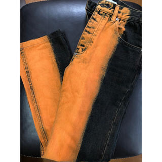 JOHN LAWRENCE SULLIVAN - 19aw overdyed denim 5pocket pants