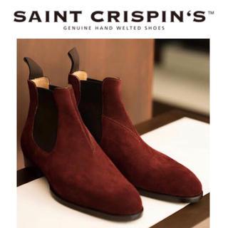 ジョンロブ(JOHN LOBB)の新品 SAINT CRISPIN'S 定22万 サンクリスピン ブーツ 6.5F(ブーツ)