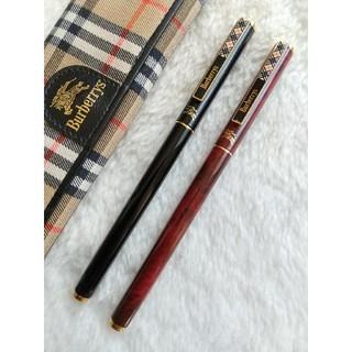 バーバリー(BURBERRY)のBURBERRY  水性ボールペン2本セット リフィル新品交換(ペン/マーカー)