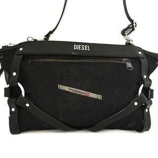 ディーゼル(DIESEL)のDIESEL(ディーゼル) ショルダーバッグ - 黒(ショルダーバッグ)