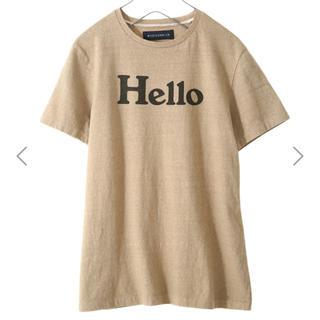 マディソンブルー(MADISONBLUE)のvery掲載 マディソンブルー  別注 Hello Tシャツ 新品未使用(Tシャツ(半袖/袖なし))
