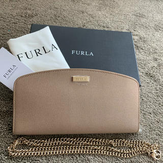 Furla - FURLA フルラ 長財布 チェーンウォレット ショルダー