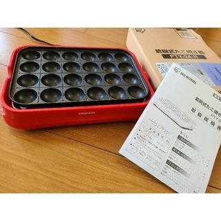 アイリスオーヤマ - アイリスオーヤマ たこ焼き器 着脱式  (たこ焼き器24穴 )