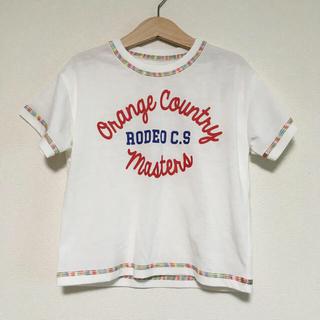 ロデオクラウンズワイドボウル(RODEO CROWNS WIDE BOWL)のロデオクラウンズ ビッグシルエット ロゴT(Tシャツ/カットソー)